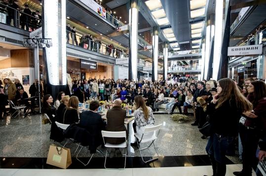 Гости Public Talk задают вопросы спикерам